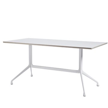 About a Table (AAT 10), 180 cm sort/hvid