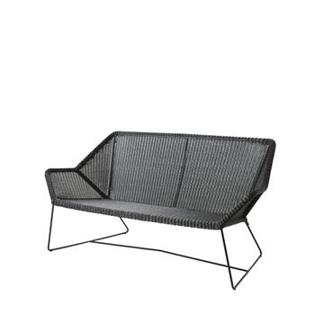 Breeze loungesofa m. meder (5567), 2 personer
