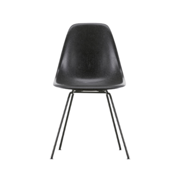 Eames DSX side chair i glasfiber, rørstel