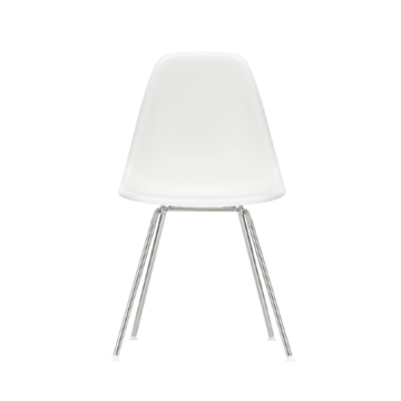 Eames DSX side chair i plastik, rørstel